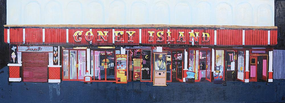 UK coast Coney Scarborough