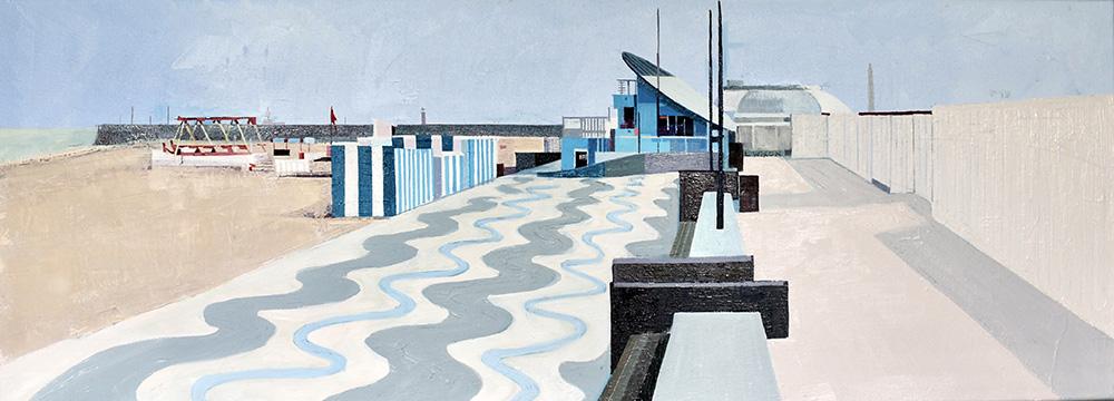 UK coast Ramsgate Seafront
