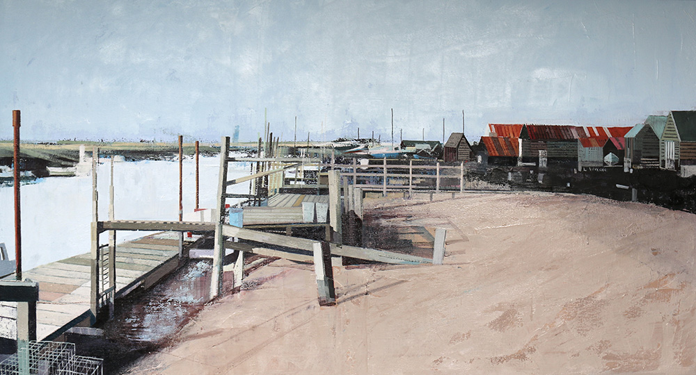 UK coast Southwold Harbour 3