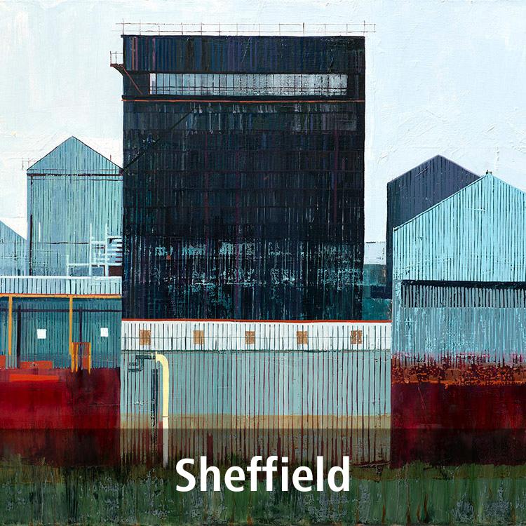 Lynne Wixon Sheffield paintings